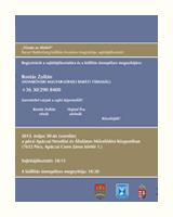 """""""VÍZUM AZ ÉLETÉRT"""" Raoul Wallenberg kiállítás hivatalos megnyitója Pécsett 2012.05.30."""